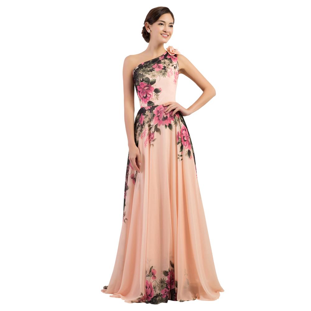 Print Formal Dresses