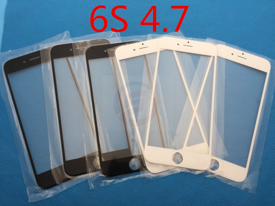 10pcs/lot NEW Replacement LCD Front Touch Screen Glass Outer Lens for iphone 6S 4.7''(China (Mainland))