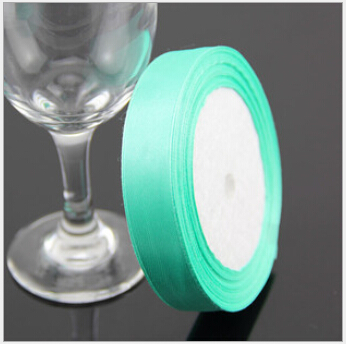 3/4 inch (20mm) single face Satin Ribbon 25yds Grass green webbing Wedding decoration Z001 - Fang Decorative Accessories Stores store