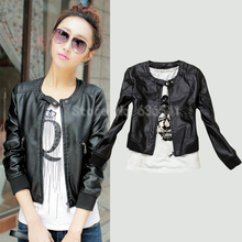 Leather Jacket Women Spring New Women's Outerwear Jacket And Coat Ladies Leather Clothing Female Motorcycle Leather Jacket(China (Mainland))