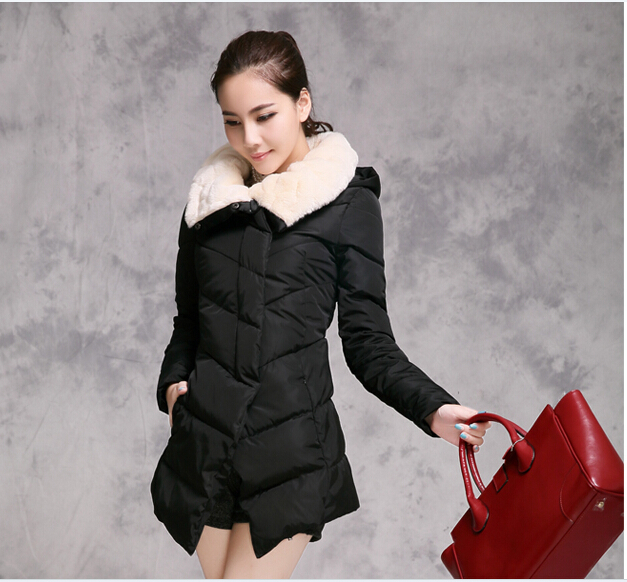 2015 new women winter coat loose casual feather thick warm padded jacket slim fit women's winter jackets winter coat women WT267(China (Mainland))