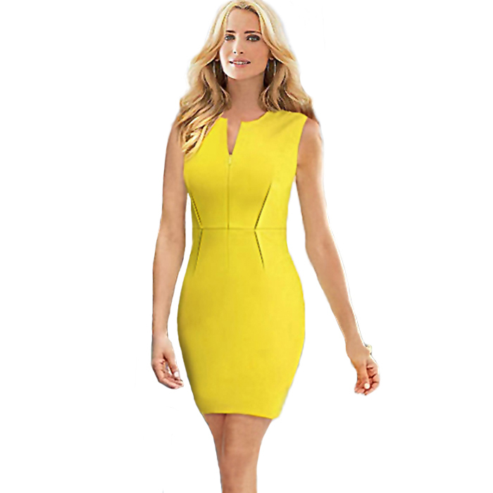 Cute and Lovely Dresses: Yellow Dresses For Women