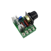 Buy Free 220V 2000W Speed Controller SCR Voltage Regulator Dimming Dimmers Thermostat for $1.28 in AliExpress store