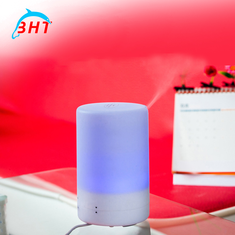 Ultrasonic Sterilization Oxygen Air Humidifier Aromatherapy LED Light Aroma Diffuser Nebulizer Aroma Humidifier For Home&Bedroom(China (Mainland))