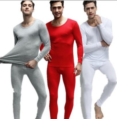 Men's Cotton thermal underwear/ Large long johns/men's long johns/men's winter Autumn underwear