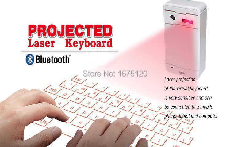 Promotion China manufacturer supply Wireless virtual laser keyboard for Ipad Iphone Tablet Projection Bluetooth(China (Mainland))