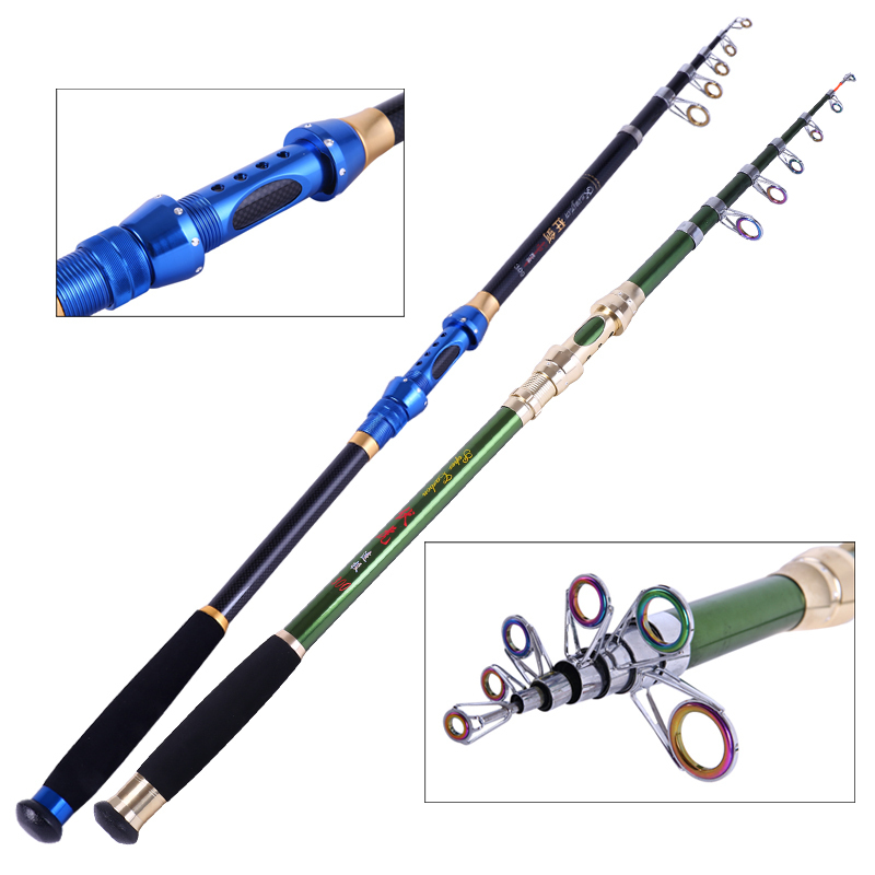 2 1m 3 6m tenkara superhard carbon telescopic folding for Folding fishing rod