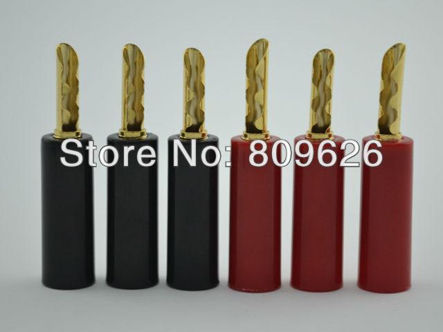 High Performance Gold Plated Speaker banana plug connector Audiocrast Connector Amplifer - Shenzhen AudioCrast Technology Co., Ltd. store