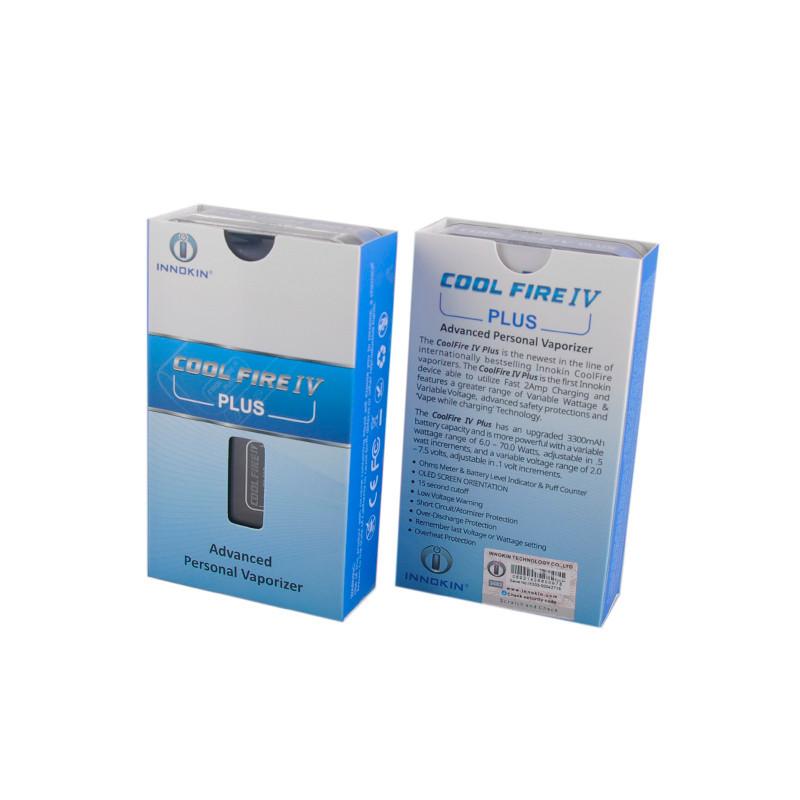 ถูก เดิมInnokin CoolFire IVพลัส70วัตต์กล่องสมัย3300มิลลิแอมป์ชั่วโมงแบตเตอรี่Coolfire 4พลัสModบุหรี่อิเล็กทรอนิกส์สมัยVape