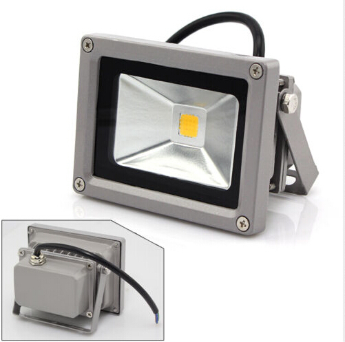 (100pcs/lot) AC85-265V 10W LED floolight High Power LED Wash Flood Light Landscape Floodlight Outdoor Flash light(China (Mainland))