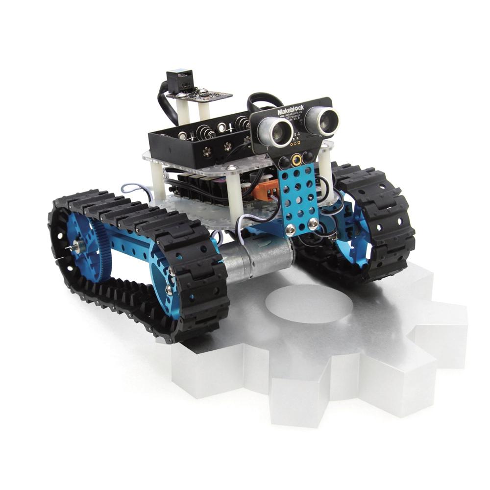 Makeblock Arduino Robot Starter Kit Blue (Bluetooth Version) Best Gift for Kid DIY Car Kit Kids Toys(China (Mainland))