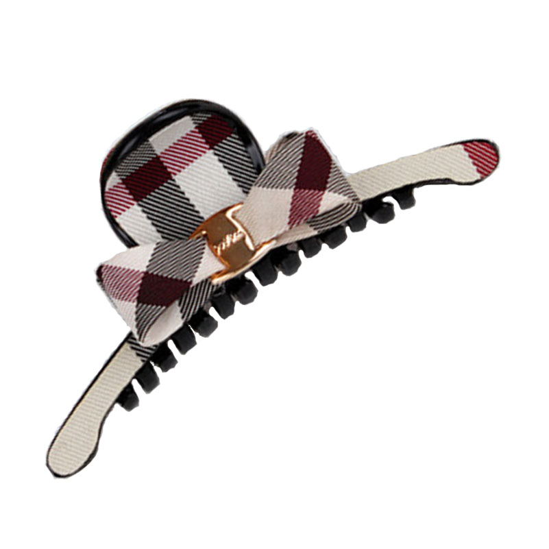 Classic Plaid Butterfly black color plaid Body childrens hair clips kids hair accessories girls Hairbands BiBi Hiar bands(China (Mainland))