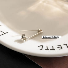 50Pcs Bros Dasar Kembali 15/20/25/32/38/40/45 Mm Pin bar Mudah Klip Pada/Kunci Aman Base Aksesoris untuk DIY Membuat Perhiasan(China)