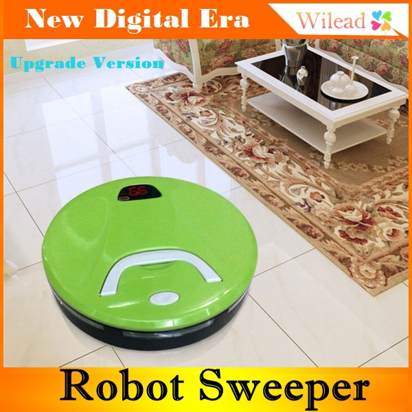 Mini intelligent Automatic sweeper,dust robot vacuum cleaner for home UV light sterilize Floor Sweeper Mop(China (Mainland))