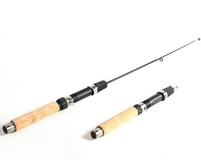 short winter  ice fishing rod mini 2014 Carbon 50cm short fishing rod<br><br>Aliexpress
