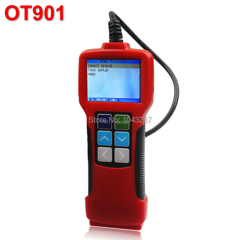 Professional OBDII /JOBD Car Oil Service Reset Tool Color-Screen ,Reset oil Service Light ,Set Inspection Mileage OT901(China (Mainland))