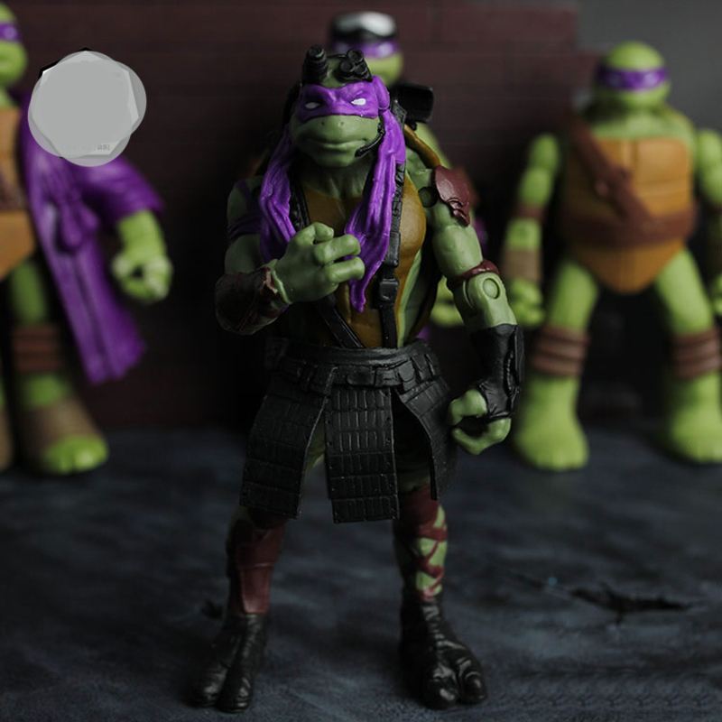 Teenage Mutant Ninja Turtles in the martial arts master high sodium Tirol turtle bulk doll model about 12CM(China (Mainland))