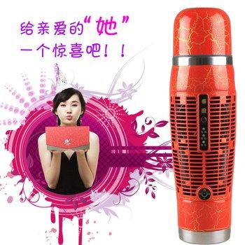 iZone Car hot and cold cups car refrigerator mini refrigerator dual vacuum cup women's