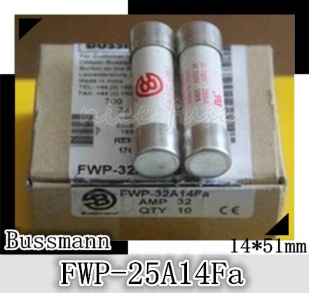 Imported cylindrical fuse fuse BUSSMANN FWP-25A14Fa 700V / 25A 14 * 51mm<br><br>Aliexpress