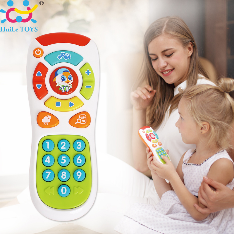 Baby Toys Early Educational Toys Electric Click and Count Remote Music Learning Machine Best Birthday Gifts for Toddler 6 Month+(China (Mainland))