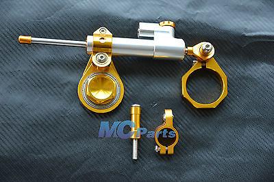 2015 Steering Damper Stabilizer Bracket Suzuki GSXR 600 750 08-10 1000 07-08 K7 K8 SG - MC-PARTS store