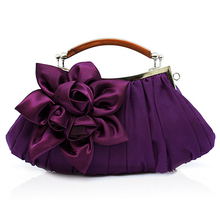 Смешанный Цвет Атласная Вечерняя сумочка Ручка Сцепления Люкс Кошелек Сцепления Плеча Сумку Цепи Свадьба Клатчи Бумажник JXY234(China (Mainland))
