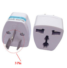 1pc US UK EU to AU AC Plug Universal Travel Adapter Power Australia 3pin