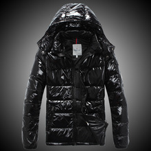 Brand high quality winter outdoor duck down jacket parka for men casual men's winter jackets thick down jacket leather jacket