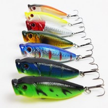 Buy Hot 7pcs/lot fishing lure fishing tackle topwater poper Minnow lure Crank Lures, fishing bait 60mm 9g for $5.18 in AliExpress store