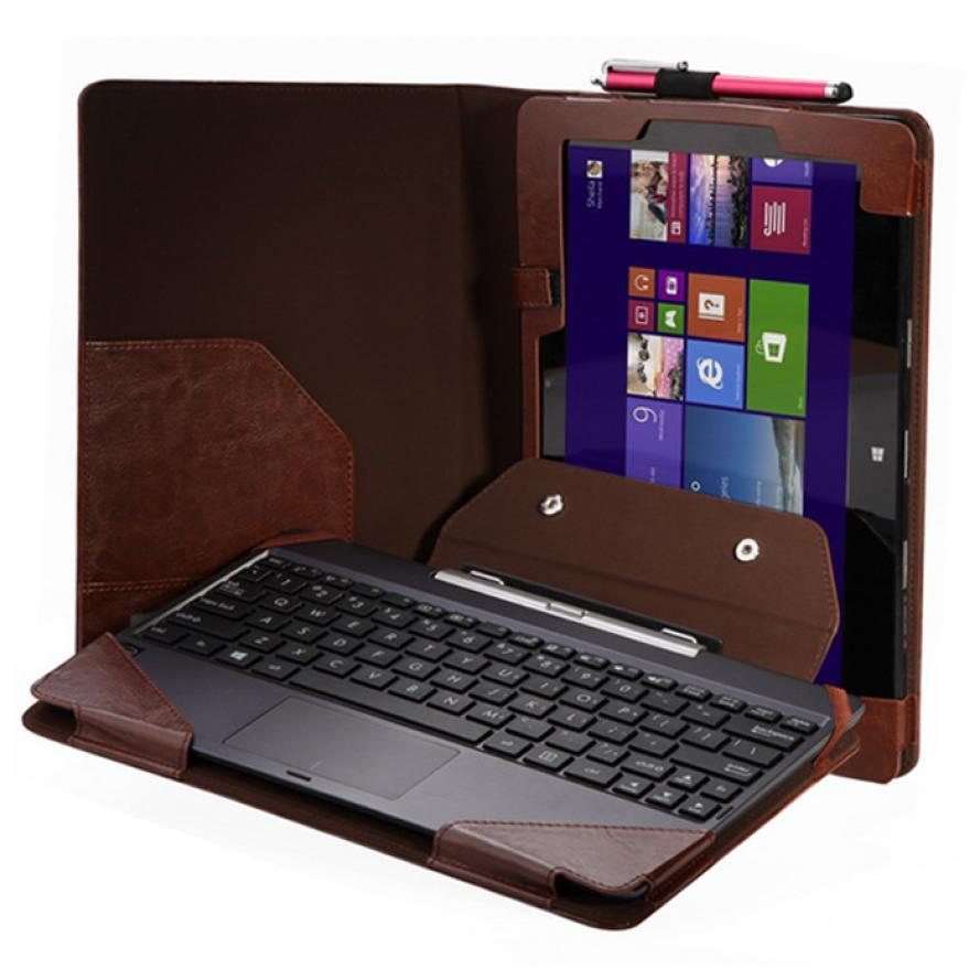 """Гаджет  New Triple Keyboard Leather Case+Pen For 10.1"""" ASUS Transformer Book T100TA   &  Just for you None Компьютер & сеть"""