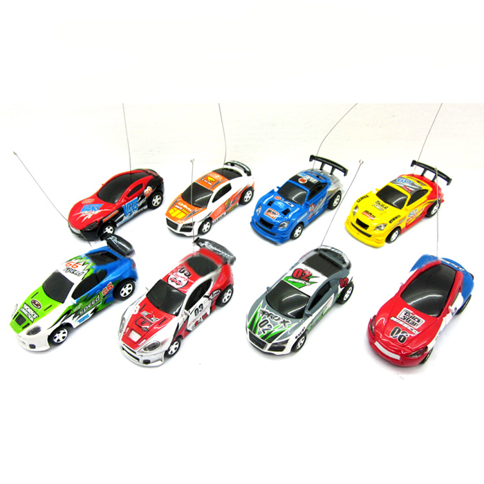 Multicolor Coke Can Speed RC Remote Control Micro Car Vehicle Boy Toy Gift Free Shipping Good Quality(China (Mainland))
