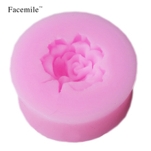 3D Flower DIY Silicone Fondant Cake Decorating Tools soap mold bakeware sets kitchen accessories 50-68
