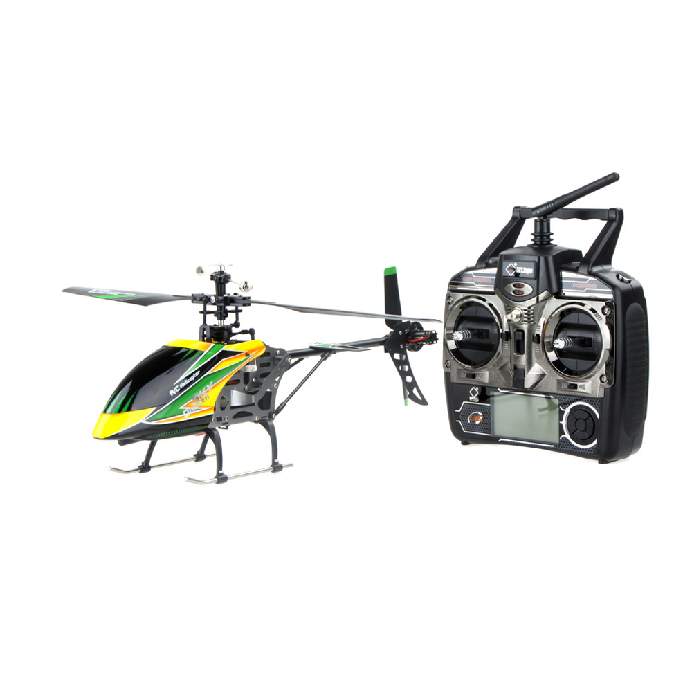 100% Original Wltoys V912 Large 4CH Single Blade RC Helicopter 2.4GHZ Radio System RC Plane with Mode 2 Universal Transmitter(China (Mainland))