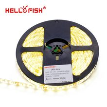Hello Fish 5m 300LED 2835/3528 waterproof LED strip, 12V flexible light 60led/m LED tape, Free Shipping(China (Mainland))