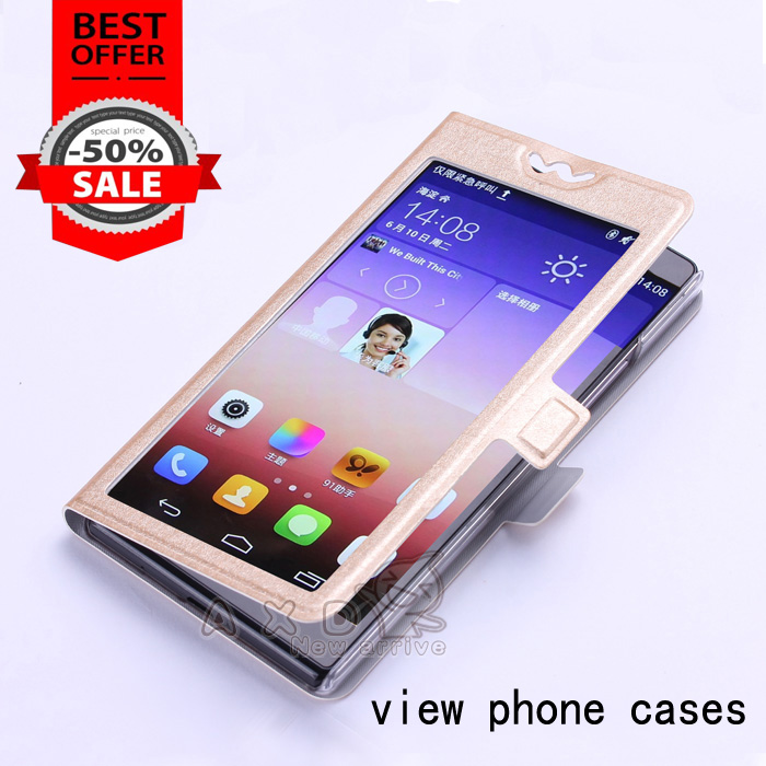 Leather Flip Cover For Sony Ericsson X12 Xperia Arc LT15i Case For Sony Xperia Arc S LT18i Vertical Phone Case With View Window(China (Mainland))