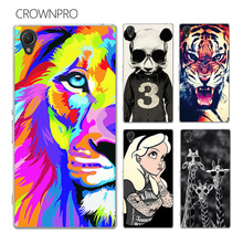 Buy CROWNPRO FOR Sony Xperia Z1 Case Cover L39H C6902 C6903 C6906 Colorful Painting Phone Back Protector FOR Sony Z1 Case Xperia Z1 for $1.99 in AliExpress store