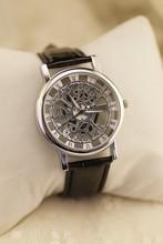 Relogio masculino venta caliente hombres relojes hombre relojes correa de cuero cuarzo de primeras marcas de lujo imitación relojes mecánicos