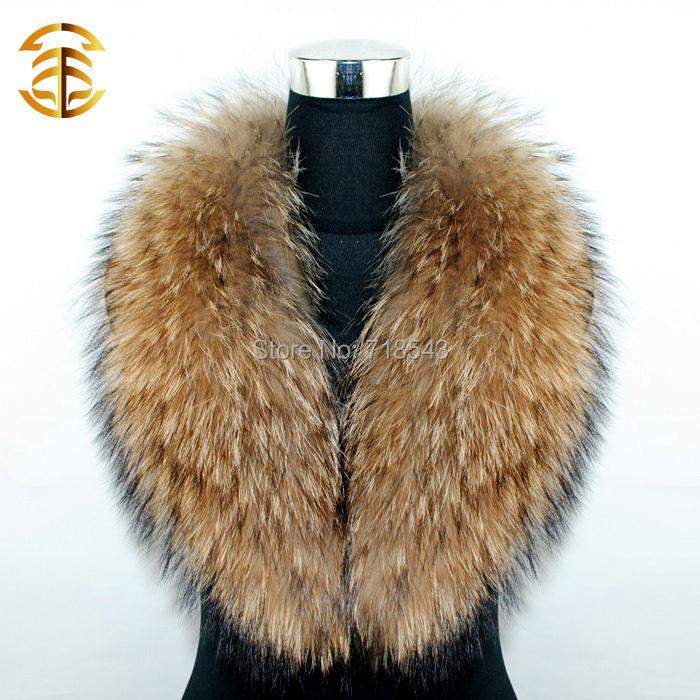 Winter Natural Fur Collar Scarf Women's Real Raccoon Fur Women Scarfs Autumn Neck Warmer Apparel Accessories Fur Scarves Woman(China (Mainland))