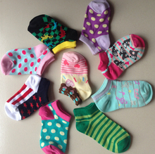 2015 HOT 0-8 Years old Cartoon Lovely Boat Children socks for Kids Socks  & Color random(China (Mainland))