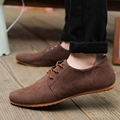 2017 mens fashion casual Breathable shoes mens suede leather shoes for men Sapatos Tenis Masculino Zapatos