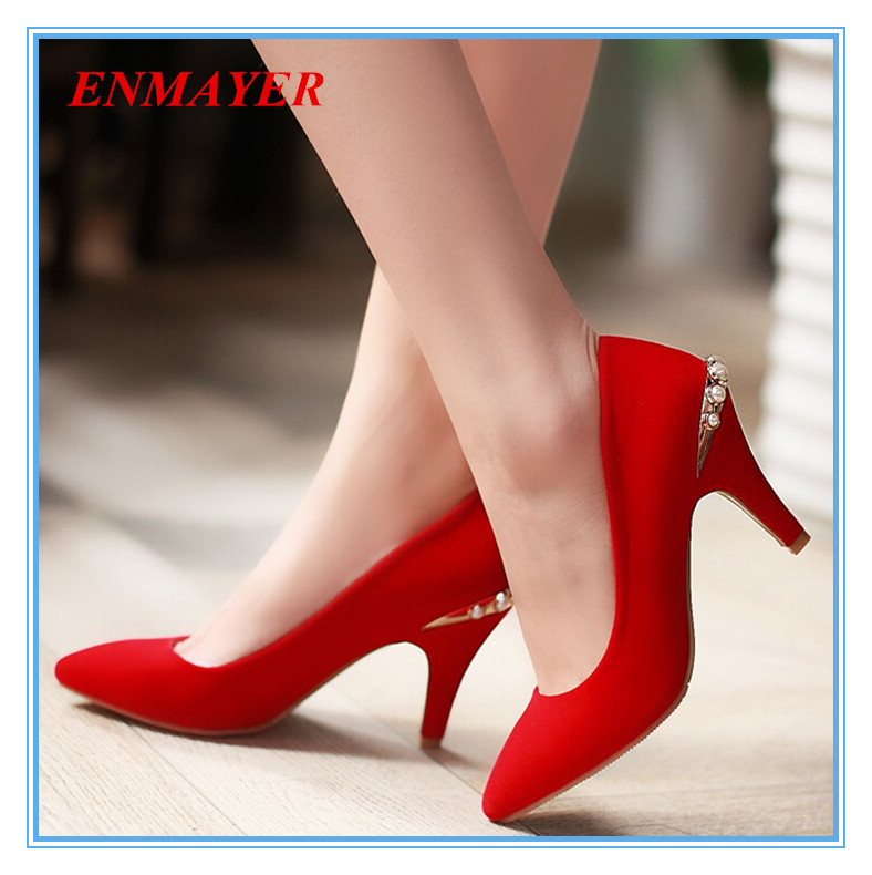 black and red closed toe pumps_Black Dresses_dressesss