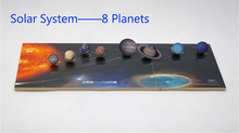 Solar System 8 Planets Mold children Small production technology material For Kids DIY(China (Mainland))