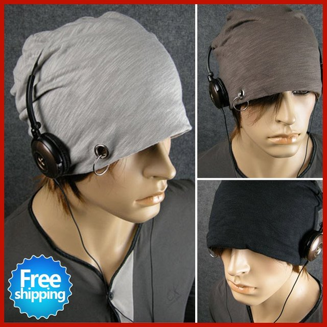 New arrivial! Hot sales men headgear cap Men's beanie hats,Winter cotton hats,hats for men,Free gifts + Free Shipping UW009