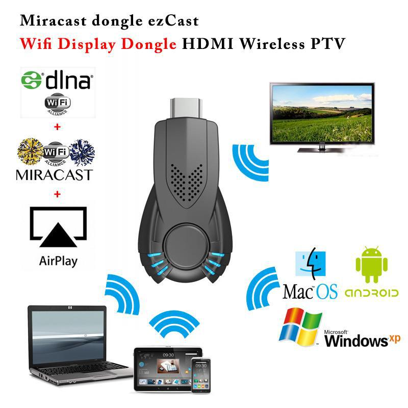 10pcs TV Stick Miracast Dongle DLNA Airplay MirrorOP better than android tv mk808(China (Mainland))