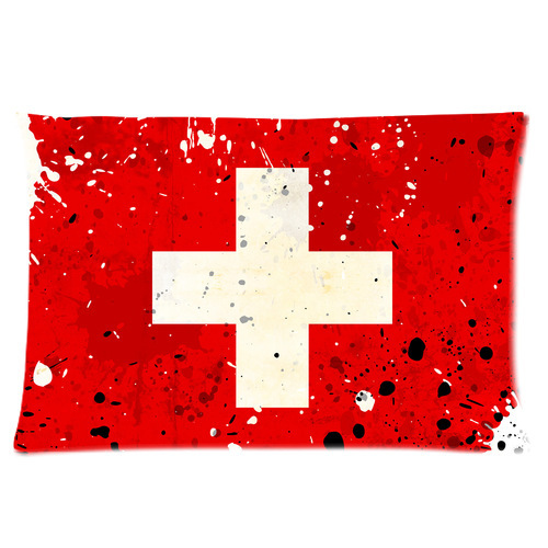 Standard Throw Pillow Cover Sizes : Original Design Classical Jesus Red Cross Rectangle Throw Pillow Cover Standard Size 16x24 (one ...