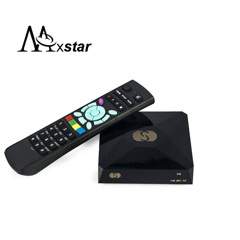 S-V6 Mini HD Satellite Receiver V6 S Support CCCAMD Newcamd WEB TV USB Wifi 3G Biss Key Youporn Free Shiping(China (Mainland))