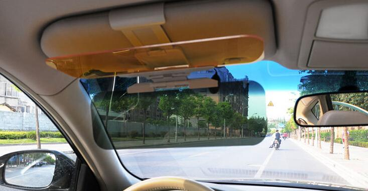 Day and Night Vision Sunshade Sun Visors Car Anti-Glare Dazzling Goggle Mirrors window cover Wholesale(China (Mainland))