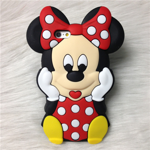 3D Cute Cartoon Minnie Mouse Soft Silicone Back Cover Case Samsung Galaxy J1 J5 J7 - Shenzhen SinJee Technologies Co. Ltd Store store