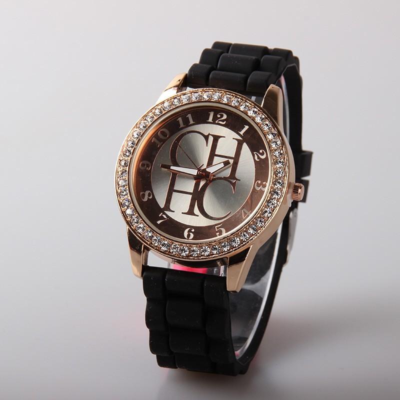2016 New Fashion Top Luxury Brand Silicone Watches Casual Quartz Wristwatch Women Jelly watch Ladies Dress