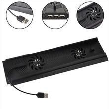 3 HUB USB Port Cooling Cooler Fans + Charger Charging Stand PS4 Console - Dany Jian's store